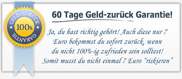 60 Tage Geld-Zurück Garantie - squrit