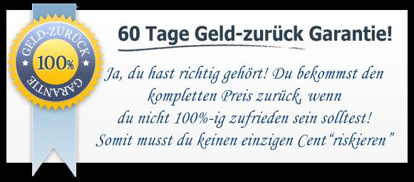 60-Tage Geld-zurück-Garantie